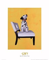 Riley The Dalmatian Puppy Fine Art Print