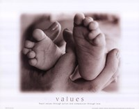 Values - Mother Child Fine Art Print