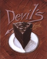 Devil's Food Fine Art Print