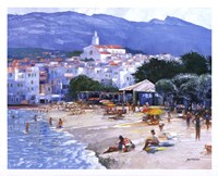 Along The Costa Brava Fine Art Print