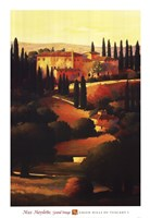 Green Hills of Tuscany I Fine Art Print