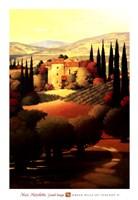 Green Hills of Tuscany II Fine Art Print