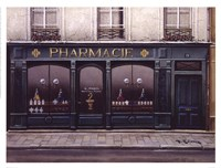 Pharmacie Framed Print