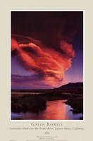 Owens River, Eastern Sierra Framed Print