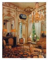 Gold Sitting Room Fine Art Print