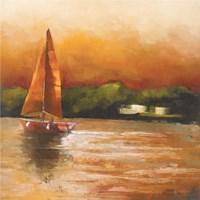 Majorcan Sail I Fine Art Print