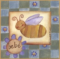 Bebe' Bee Framed Print