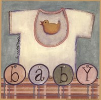 Baby T-Shirt Framed Print