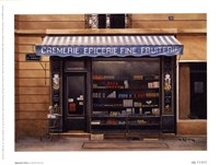 Epicerie Fine Framed Print