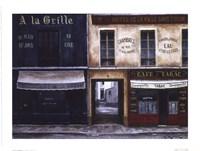 A La Grille Framed Print