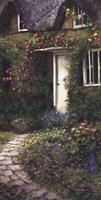 Cobblestone Entry I Fine Art Print