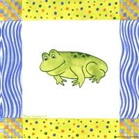 Freddie Frog Fine Art Print