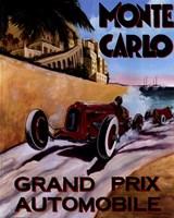 Monte Carlo Grand Prix Framed Print