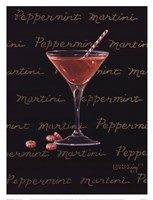 Peppermint Martini Framed Print