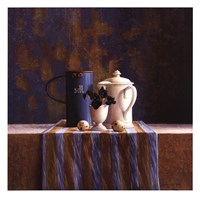 Striped Still Life I Fine Art Print