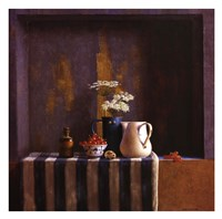 Striped Still Life II Fine Art Print