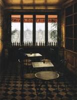 Interieur Bistrot a vin Fine Art Print