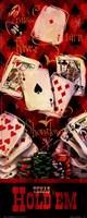 Texas Hold'em II Framed Print