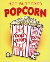 Hot Buttered Popcorn Framed Print