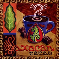Oaxacan Chocolate Framed Print