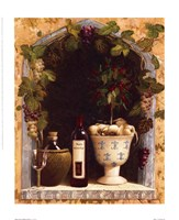 Olive Oil and Wine Arch I Fine Art Print