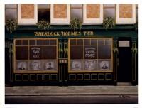 Sherlock Holmes Pub Fine Art Print