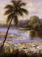 Island Tropics I Fine Art Print
