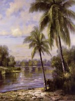 Island Tropics II Fine Art Print