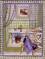 Lavander Bath Fine Art Print