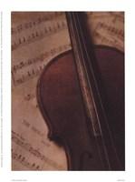 Violin II Framed Print