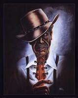 Blues Legend Fine Art Print