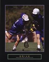 Drive - Lacrosse Fine Art Print