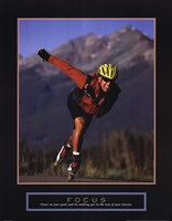 Focus - Inline Skater Fine Art Print