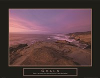 Goals - Sunset Fine Art Print