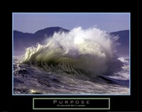 Purpose - Wave Fine Art Print