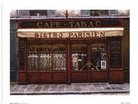 Bistro Parisien Framed Print
