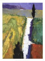 Tuscan Field II Fine Art Print