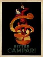 Bitter Campari Framed Print