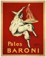 Pates Baroni, 1921 Framed Print