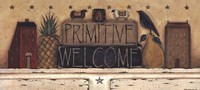Primitive Welcome Fine Art Print