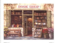 Book Shop Fine Art Print