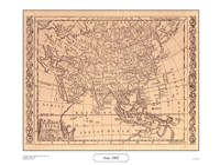 Asia, 1802 Fine Art Print