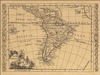 South America, 1802 Fine Art Print