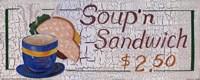 Soup N Sandwich Fine Art Print