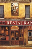 Le Restaurant Fine Art Print