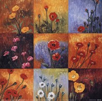 Poppy Fields I Fine Art Print