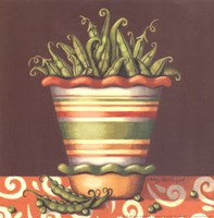 Peas In A Bowl Fine Art Print