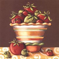 Tomatoes In A Bowl Fine Art Print