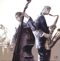 Jazz Band Fine Art Print
