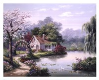 Arbor Cottage Fine Art Print